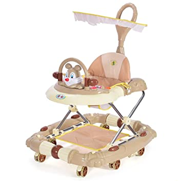 GHDE& 6/7-18 Meses Baby Walker, Multifuncional Anti vuelco ...