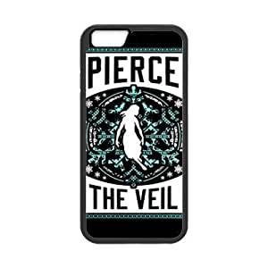 LeonardCustom- PTV Pierce the Veil Protective Hard Rubber Coated Cover Case for iPhone 6 4.7
