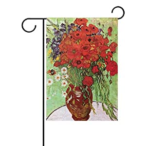 "PersonalizedShop Van Gogh Famous Painting 12"" x 18"" Double Sided Fade Resistant Polyester Garden Flag"