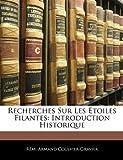 Recherches Sur les Étoiles Filantes, Rémi Armand Coulvier-Gravier, 1141665166