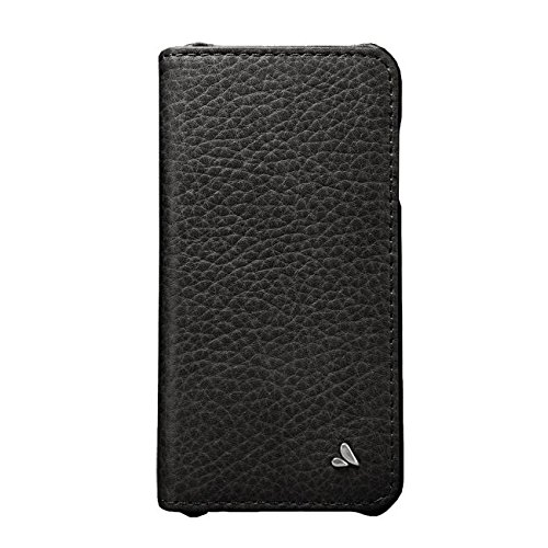 Vaja Agenda Premium Leather Case and Wallet for iPhone 6 Plus/6s Plus - Agenda Series - 1 ID Slot, 4 Card Slots and 2 Bill Compartments - Bridge Black by Vaja (Image #1)