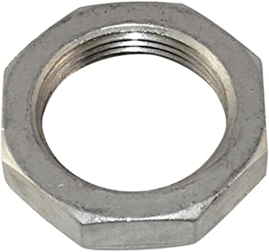 1 NPT Female Lock Nut Stainless Steel 304 O-Ring Groove Cast Pipe Fitting