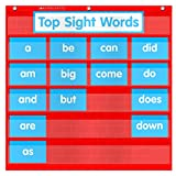 Scholastic Teacher's Friend Word Wall Pocket Chart, Multiple Colors (TF5115)
