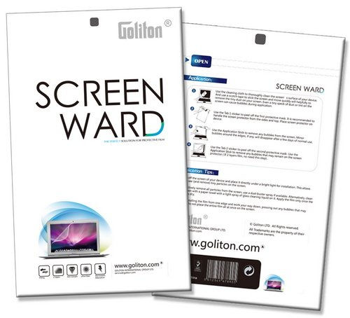 15.6'' Anti-glare Screen Protector for Laptop Notebook 15.6 Inch (345mm * 194mm) by Goliton (Image #3)