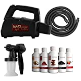 MaxiMist SprayMate TNT Spray Tanning System with FREE Suntana Premium Sunless Solutions