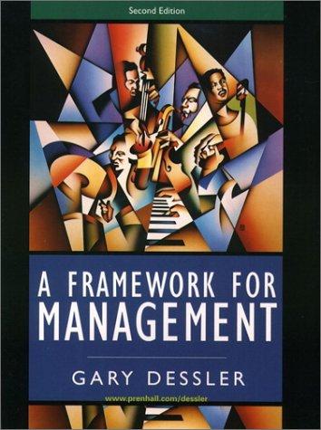 Framework for Management, A (2nd Edition)