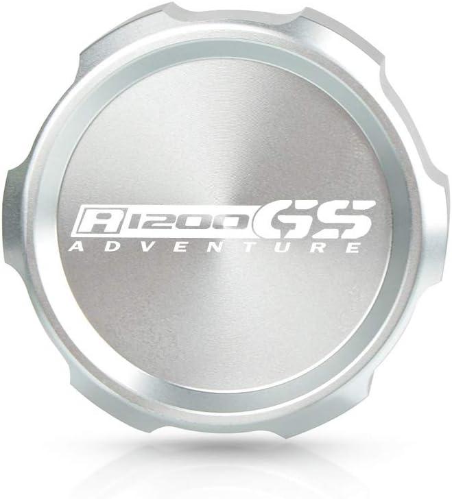 LIWENCUI Motorrad-Motor hinten Kraftstoff Bremsfl/üssigkeitsbeh/älter Cap Oil Cup-Abdeckung for BMW R1200GS Adventure 2007-2013