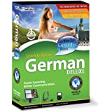 Learn to Speak German Deluxe - ( v. 10.0 ) - complete package - 1 user - PC - DVD - Win