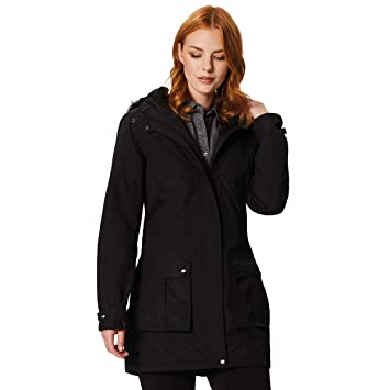 Regatta Women s Sherlyn Waterproof and Thermoguard Insulated Faux Fur  Hooded Jacket ef4a6e3612abc