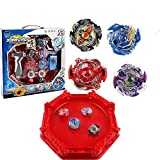 battle masters arena - 3T6B Beyblade Burst Stadium Evolution Star Storm Metal Fusion Master 4D Launcher with Arena Included