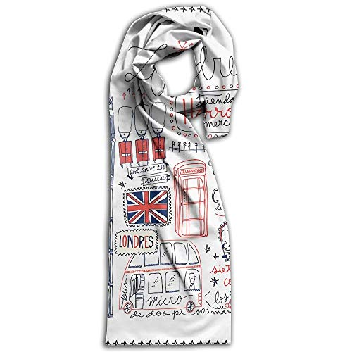 - London Painting Super Soft Classic Cashmere Pashmina Feel Winter Scarf