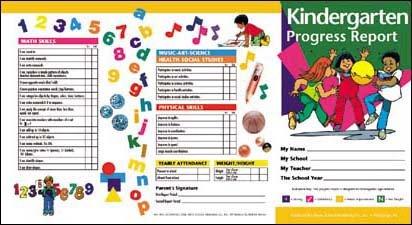 Amazon.com : Kindergarten Progress Report : Academic Awards And ...