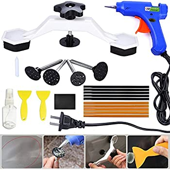 GLISTON Pops a Dent Puller Bridge Dent Repair Tools Kit Paintless Dent Repair Remover for Auto Body Motorcycle Refrigerator Washing Machine