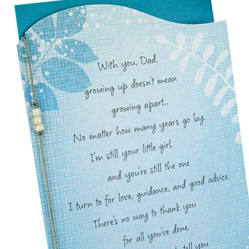 Hallmark Father's Day Between You and Me Greeting Card from Daughter (Still Your Little Girl) Photo #6