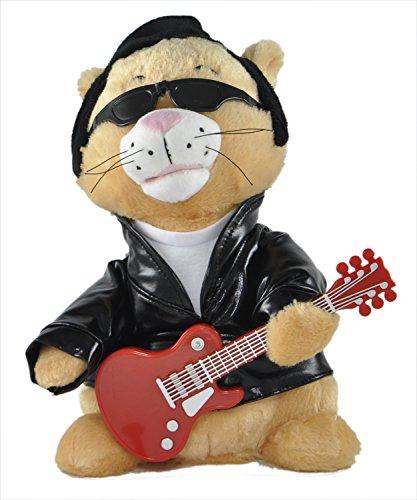 "Cuddle Barn Animated Singing and Dancing Plush Cat ""Kool Kat""- Sings"