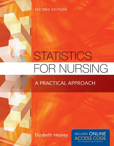 1284048349 - Statistics for Nursing: A Practical Approach