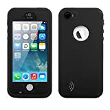 img - for iPhone 5S Best Waterproof Case, Waterproof, Dust Proof, Snow Proof, Shock Proof Case with Touched Transparent Screen Protector, Heavy Duty Protective Carrying Cover Case for iPhone 5 5s(T-Black) book / textbook / text book