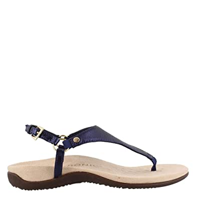 ce618262f3ca9 Vionic Women's Rest Kirra Backstrap Sandal - Ladies Sandals with Cocealed  Orthotic Support