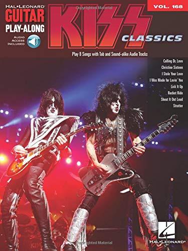 Kiss: Guitar Play-Along Volume 168