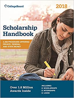 'NEW' Scholarship Handbook 2018 (College Board Scholarship Handbook). desde Future current hours aspects personal Adeba