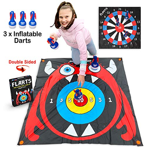 Lawn Darts Outdoor Games for Family - FLARTS, Original Lawn Games for Kids and Adults - Quality Backyard Games for Adults and Kids - Our Inflatable Dart Games are Safe Indoor Outdoor Games for Kids