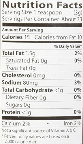 Organic Seaweed Gomasio - Sesame Seeds Seaweed & Sea Salt 3.5 Ounce (100 Grams) Jar by Eden (Image #1)
