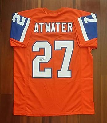 Steve Atwater Signed Autographed Jersey Denver Broncos JSA