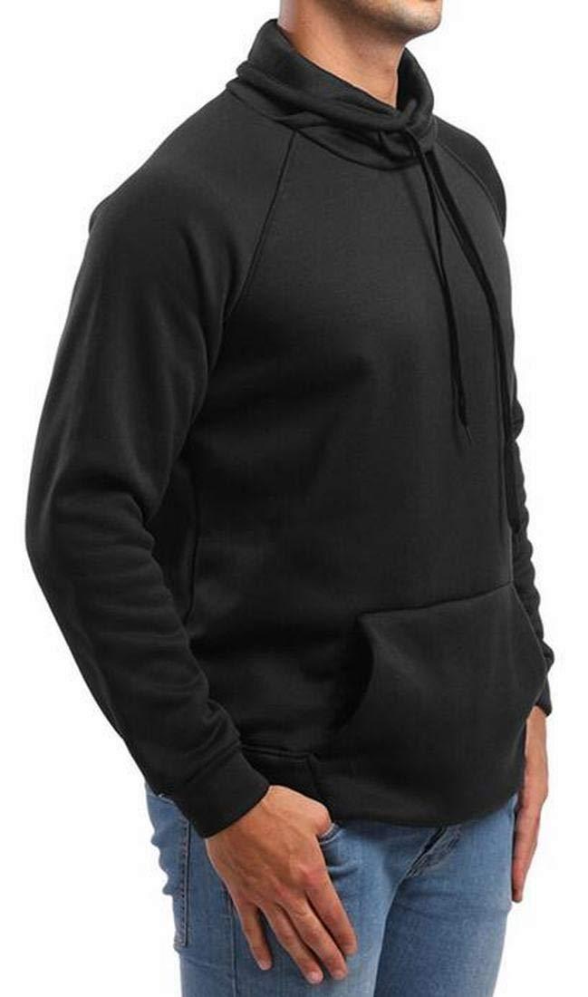 YUNY Men Fall Weinter Fit Thick Velvet Lapel Warm Plaid Work Flannel Shirt AS3 XL