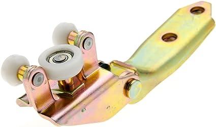 Lado izquierdo Puerta Corredera Medio Ajuste Guía de rodillo para VW T4 701843335 un: Amazon.es: Coche y moto