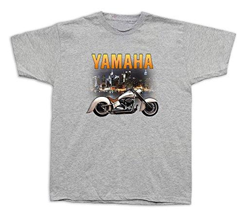 - Motorcycle yamaha star city nightlight Tshirts Vstar Classic Royal Chrome 1300