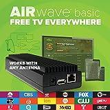 Mohu AirWave HDTV Streaming Media Player, Free TV, OTA Antenna, Programming Guide, Mohu TV app for Roku, AppleTV, Amazon Fire (Use Your Antenna)