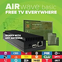 Mohu AirWave HDTV Antenna Streaming Device, Premium Edition Outdoor TV Antenna Free TV, Programming Guide, Mohu TV app, MH-110088 (70 Mile)