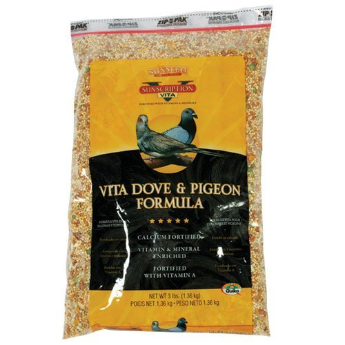 Sun Seed Company Bss01082 Vita Dove And Pigeon Diets Food, 25-Pound by Sun Seed