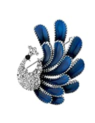 Neoglory Jewelry Made With SWAROVSKI Elements Crystal Rhinestone Brooch Pin Women