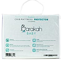 Luxurious Bamboo Waterproof Baby Crib Mattress Protector Pad - Hypoallergenic...