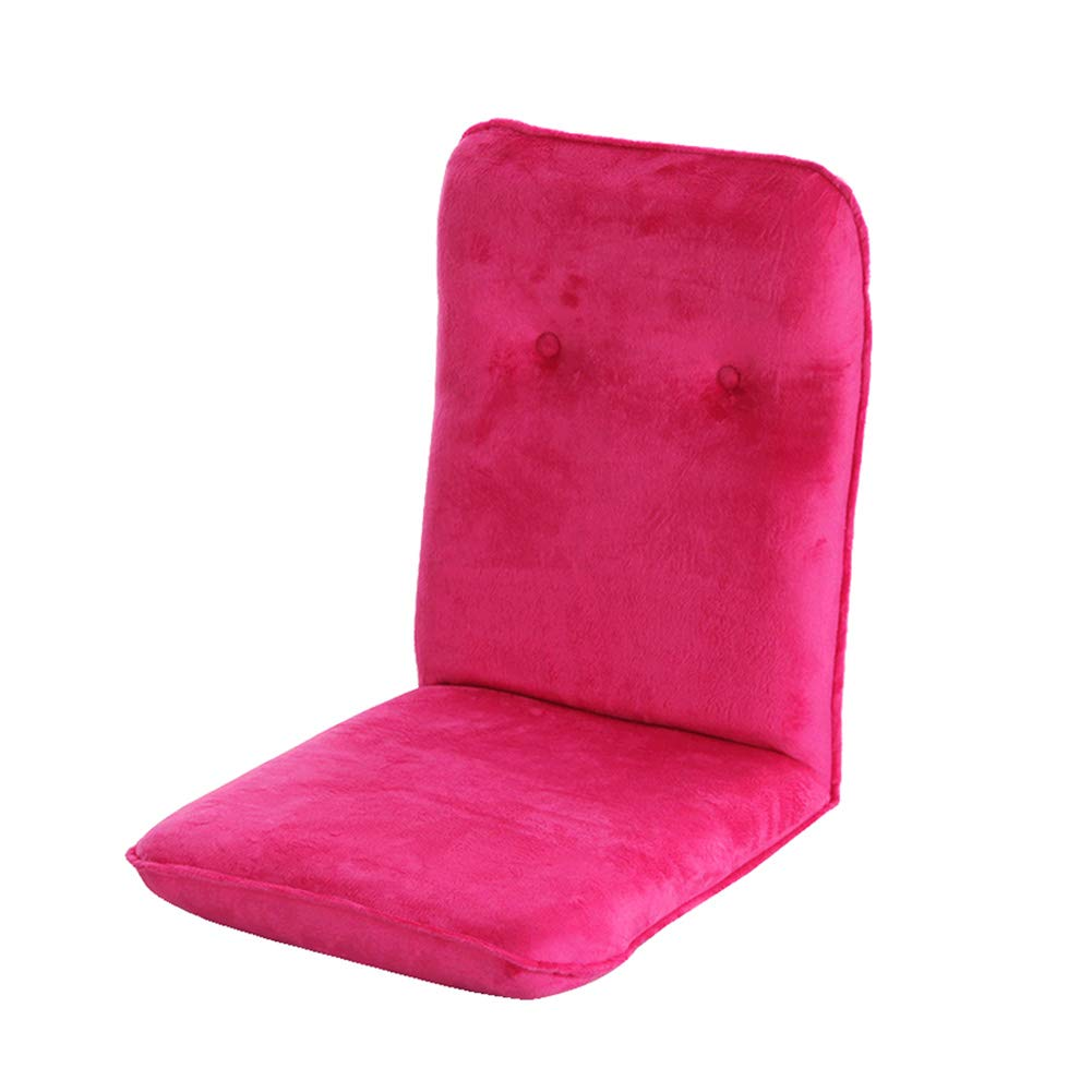 Canapé paresseux Chaise De Plancher Pliable Chaise De Jeu Réglable Super Confortable Rembourré Dos Élégant Canapé Canapé Lits (Couleur : Purple)