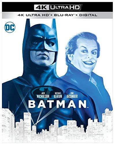 Batman (1989) (4K Ultra HD + Blu-ray + Digital) (4K Ultra HD)