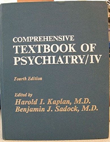 Comprehensive Textbook of Psychiatry