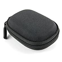 DURAGADGET Hard EVA 'Shell' Protective Storage Case - Compatible with RHA S500 Ultra-Compact, Noise Isolating In-Ear Headphones