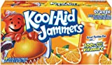 Kool-Aid Orange Jammers, 10-Count, 6-Ounce Pouches (Pack of 4)