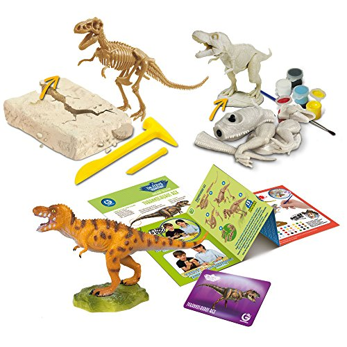 Uncle Milton Dr Steve Hunters-Dig - Build - Paint - Play - Scientific Educational Toy]()
