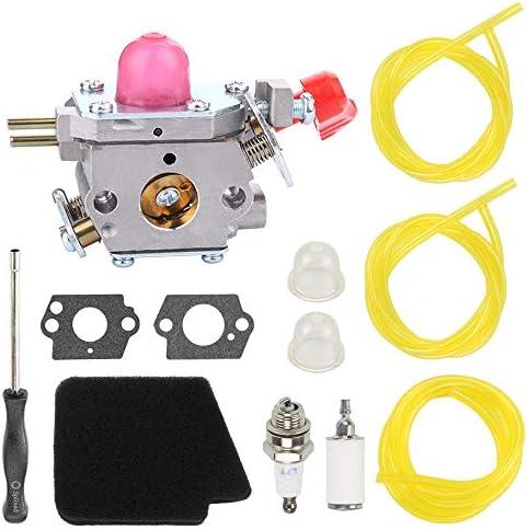 Carburetor For Poulan Gas Blower ZAMA C1U-W43B 545081857 358.794773 BVM200FE