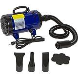 PawBest 2 Speed Adjustable Heat Pet Grooming Force Hair Dryer (Blue)