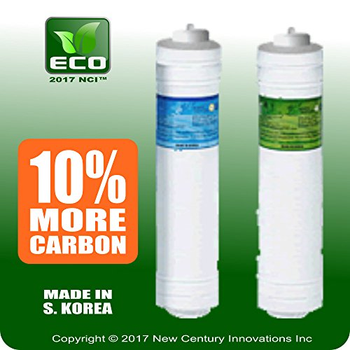 ECO Filter Replacement Set for Tyent MMP 5050/7070/9090/11 Tap water Ionizer with Bonus