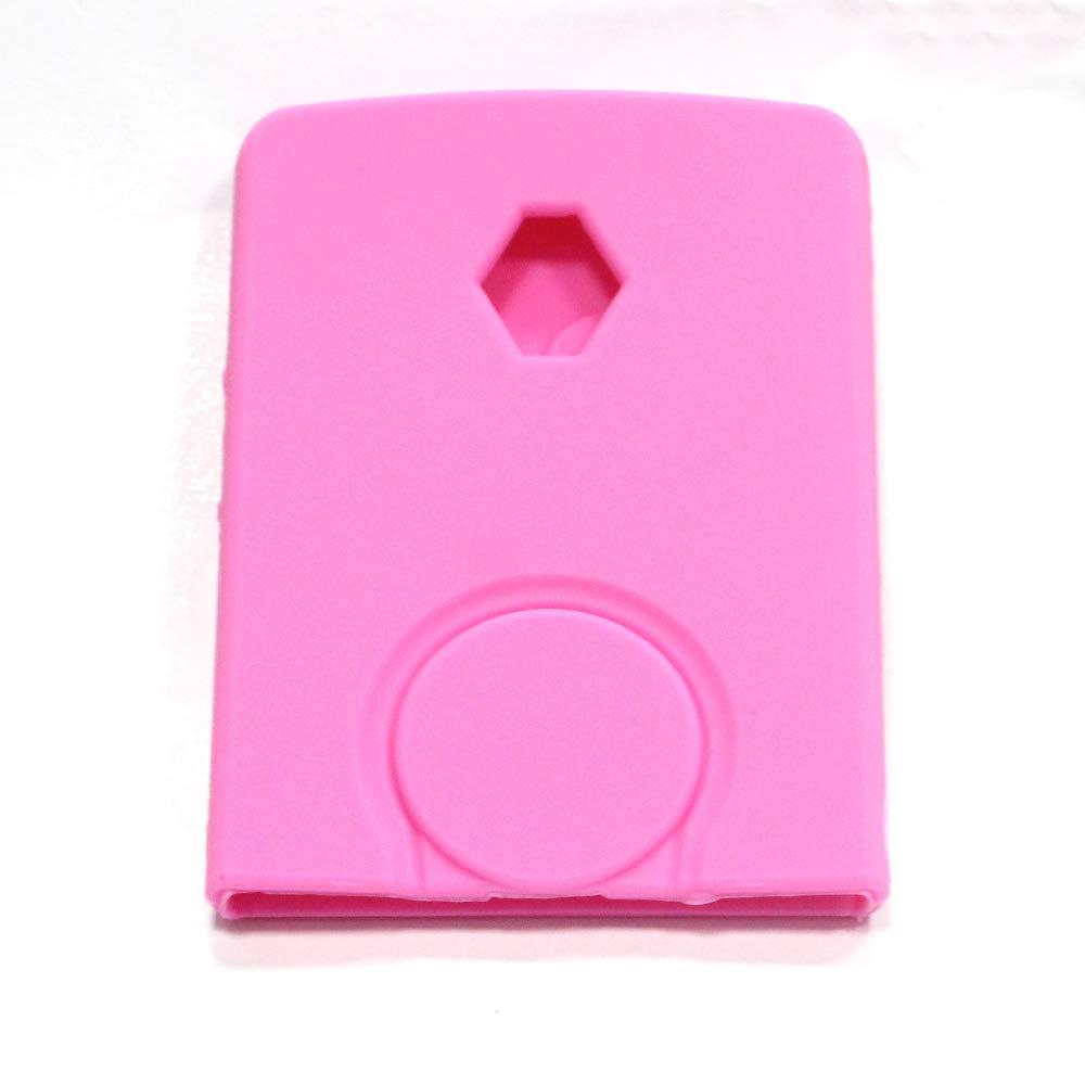 Carcasa de silicona para llave de coche Set Soporte para Clio ...