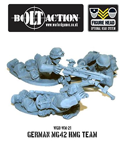 Bolt Action 28mm German Army MG42 HMG Team