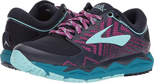 Brooks Women's Caldera 2 Navy/Plum/Ice Blue 7 B US