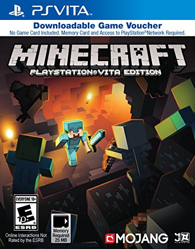 Minecraft Game Voucher PlayStation Vita product image