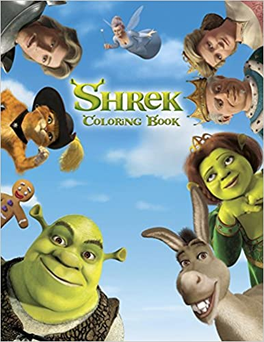 Shrek Coloring Book: Coloring Book for Kids and Adults, Activity Book, Great Starter Book for Children