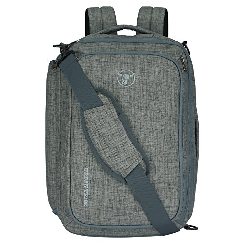 Urban Tribe Transformer 2.0 Multipurpose 15.6 Inch| Water Repellent |20 Litres | Laptop backpack for Men and Women  Light Grey